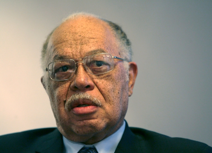 FILE - In this March 8, 2010 file photo, Dr. Kermit Gosnell is seen during an interview with the Philadelphia Daily News at his attorney's office in Philadelphia. 2011 grand jury report on a busy west Philadelphia abortion clinic described patients being overmedicated, maimed and even killed during lax, long-unregulated procedures. But prosecutors say Dr. Kermit Gosnell also abused his low-paid staff, relying on untrained workers to anesthesize, prep and monitor patients before he arrived at night to perform surgery. (AP Photo/Philadelphia Daily News, Yong Kim, File) MANDATORY CREDIT, NO SALES