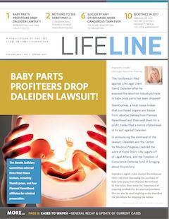 Lifeline Spring 2017 Cover